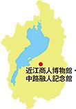 博物館の位置図