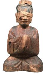 木造男神坐像