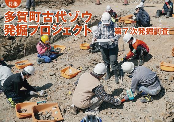 特集:多賀町古代ゾウ発掘プロジェクト 第7次発掘調査
